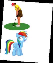 Familjedag med ponnyridning och provspel.
